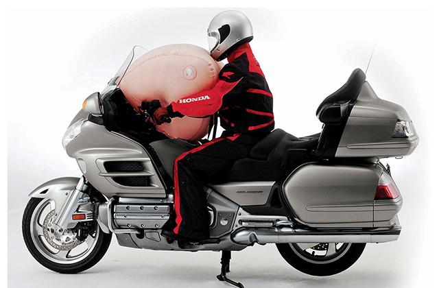 Poduszka powietrzna dla motocyklisty