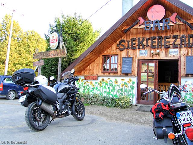 Wielka Pętla Bieszczadzka - bar Siekierezada