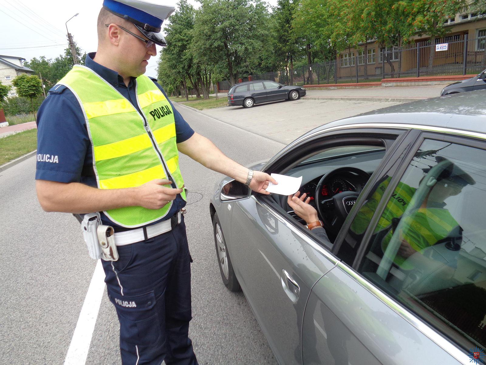 Zatrzymanie prawa jazdy