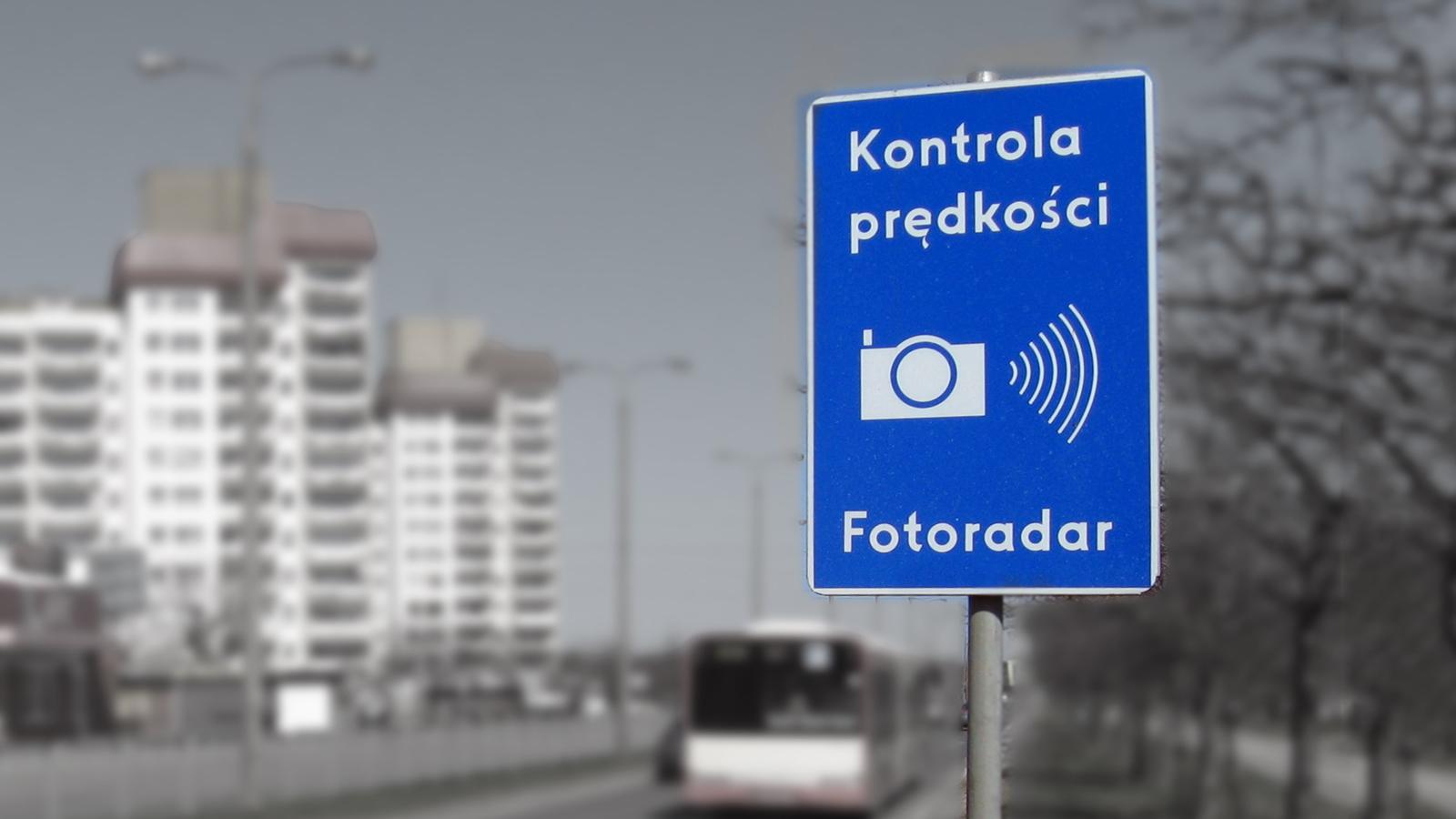 stacjonarne fotoradary