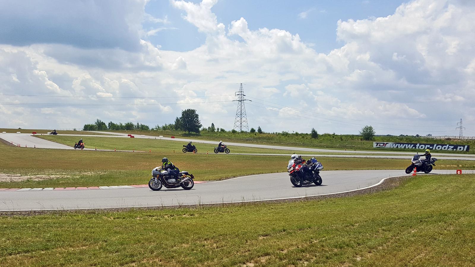 Triumph ride event