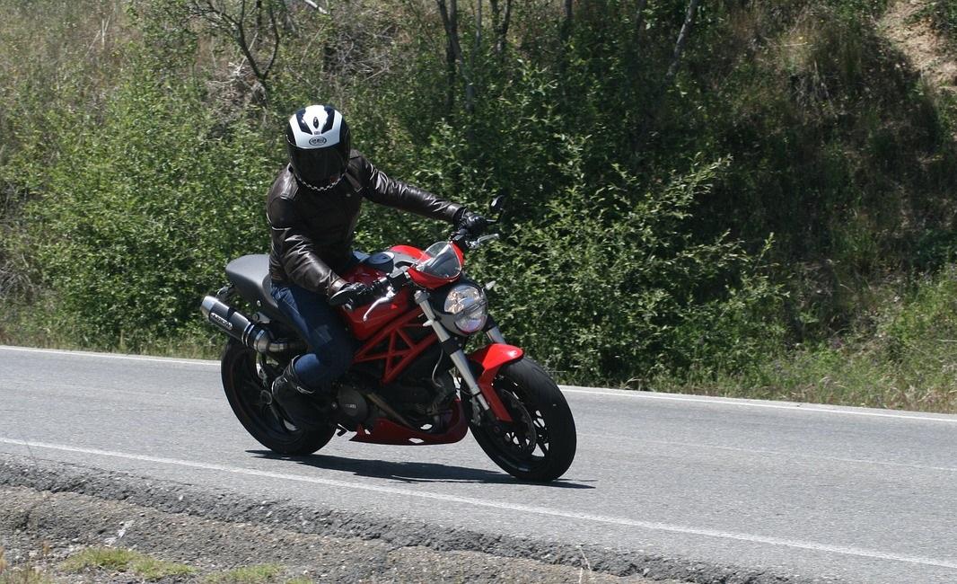pierwsza jazda motocyklem