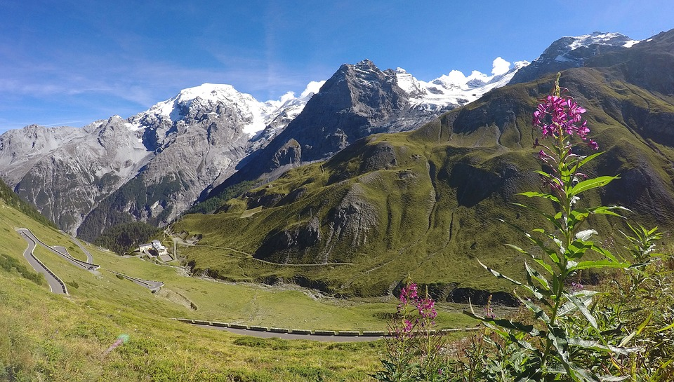 alpejski krjaobraz