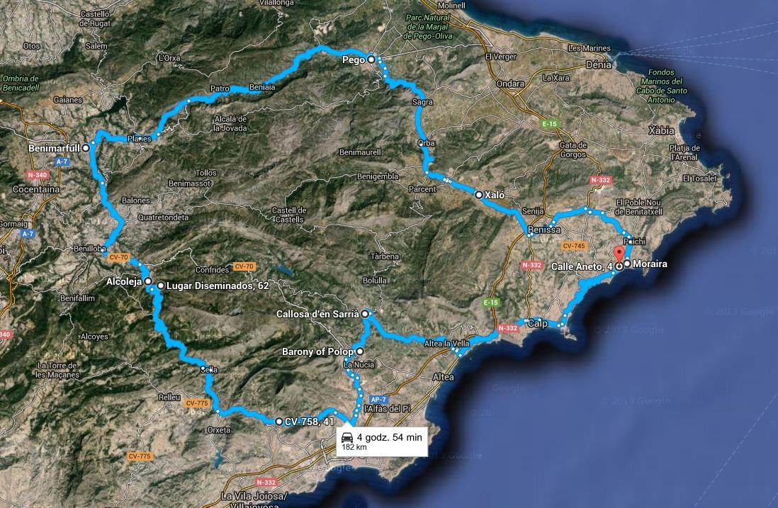 hiszpania-trasa-1