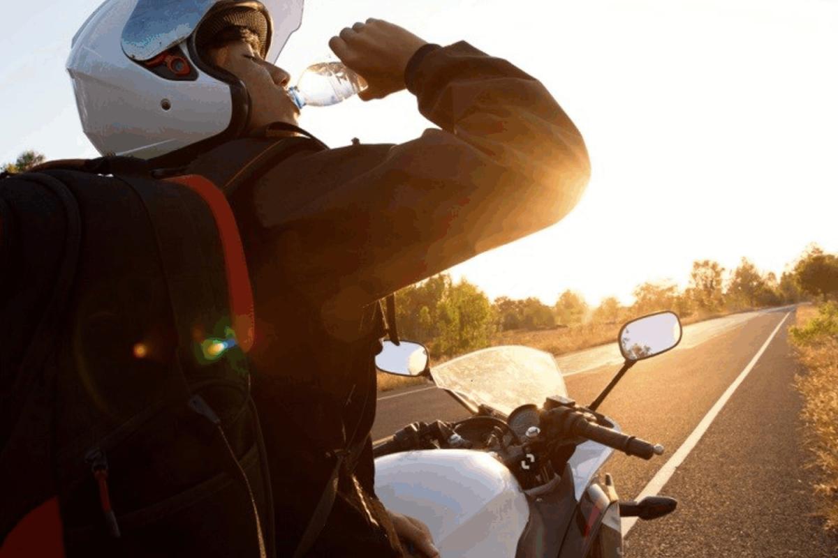 Odwodnienie motocyklisty